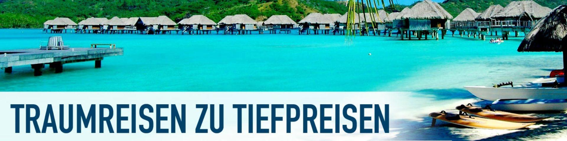 Bei Reise-Geier günstige Urlaubsziele vergleichen und finden  finden